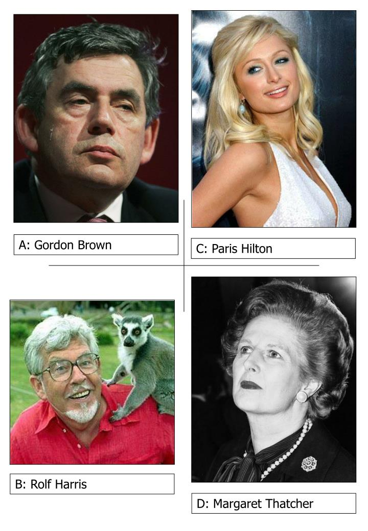 A: Gordon Brown