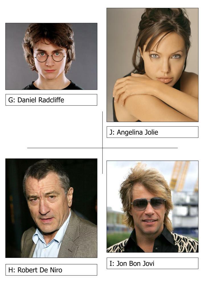 G: Daniel Radcliffe