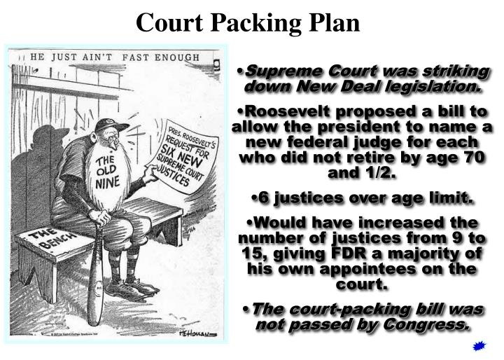 Court Packing Plan