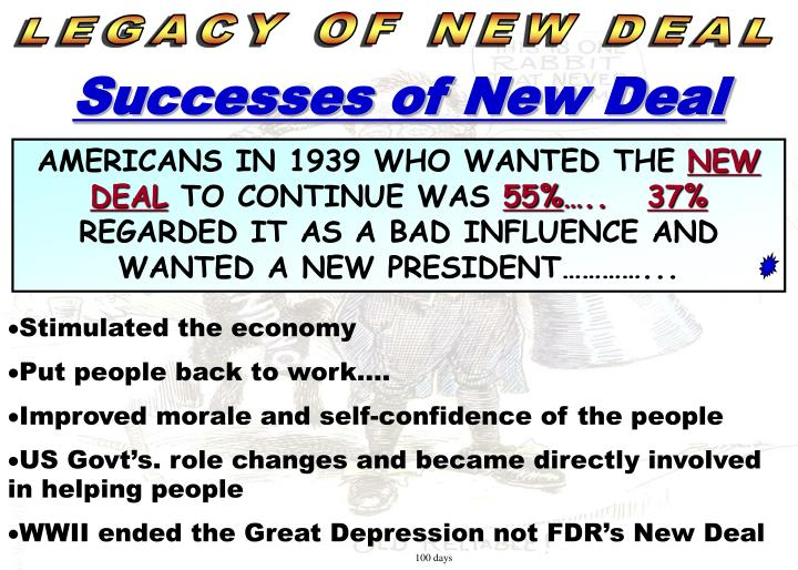 LEGACY OF NEW DEAL
