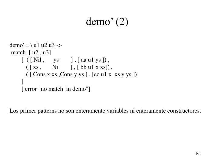 demo' (2)