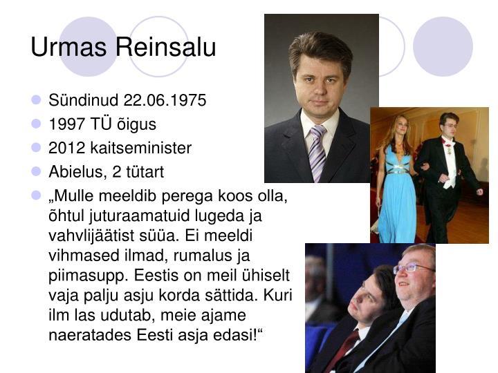 Urmas Reinsalu