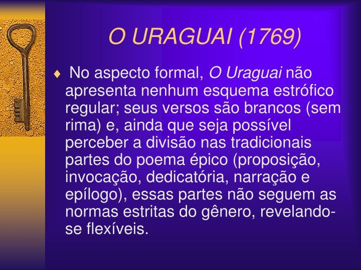 O URAGUAI (1769)