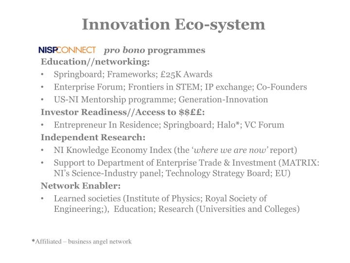 Innovation Eco-system