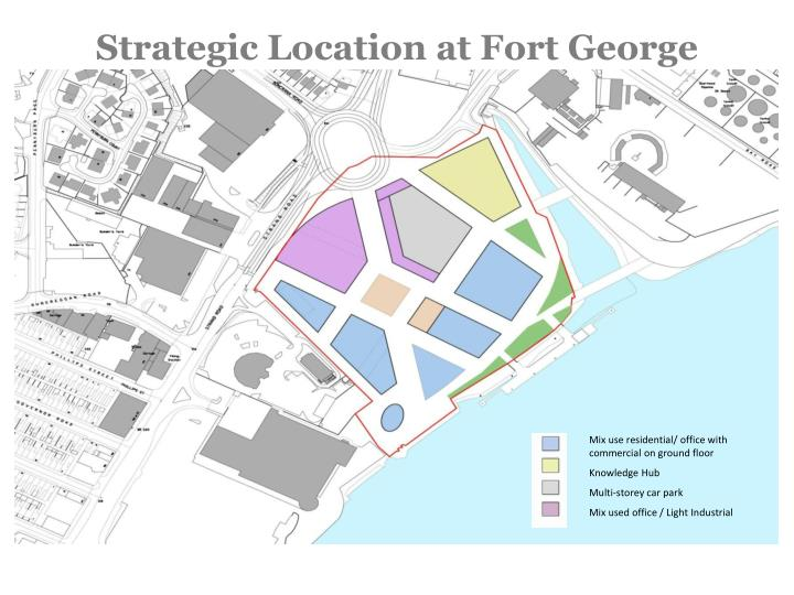 Strategic Location at Fort George