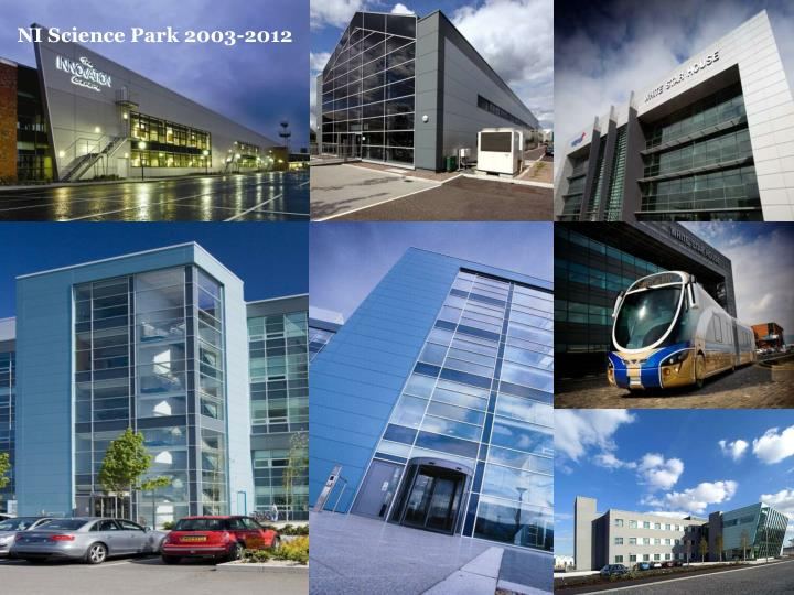 NI Science Park 2003-2012