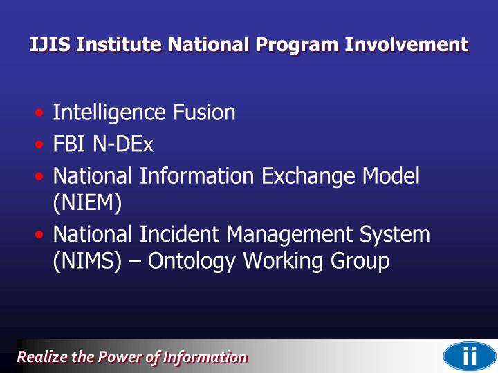 IJIS Institute National