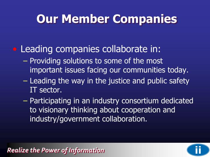 Our Member Companies