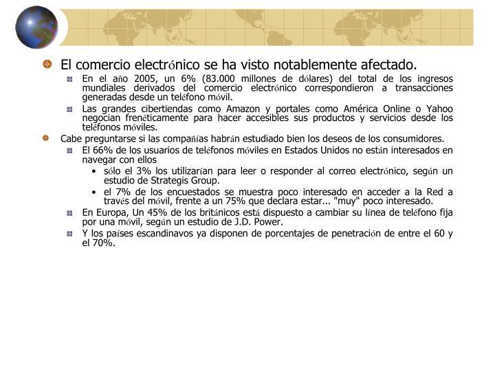 El comercio electr