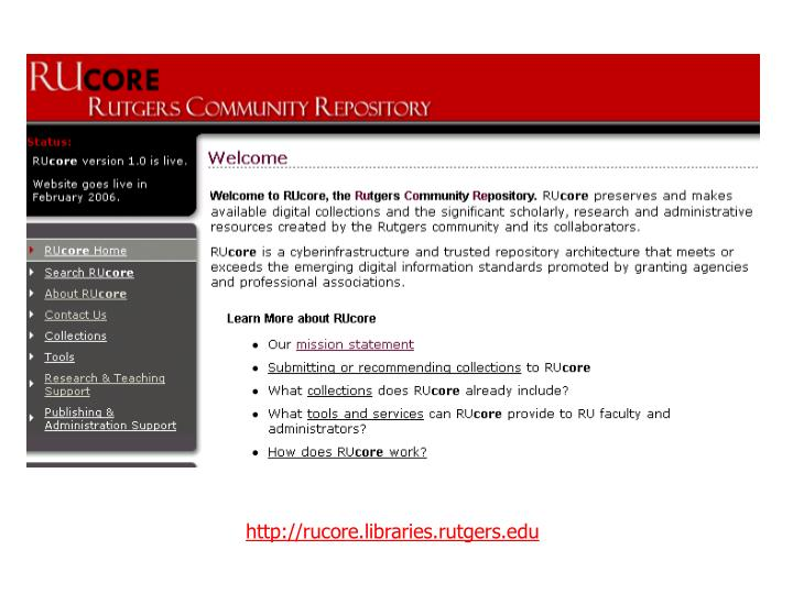 http://rucore.libraries.rutgers.edu
