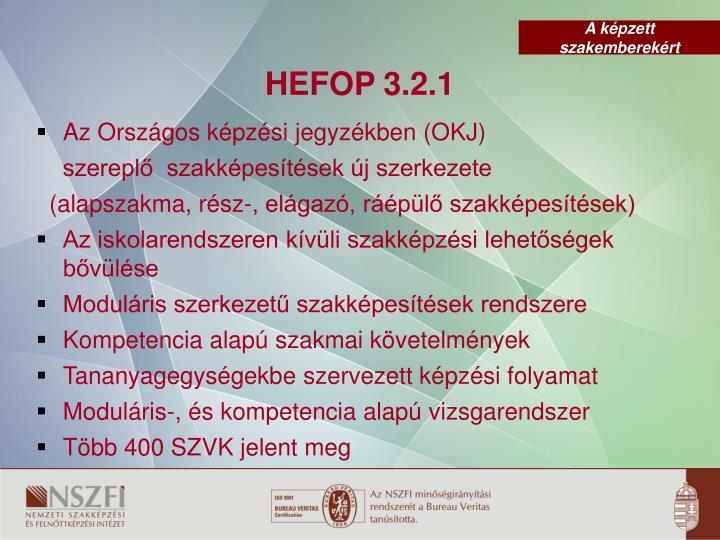HEFOP 3.2.1