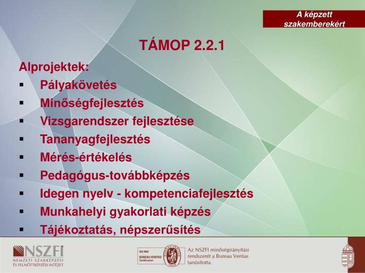 TÁMOP 2.2.1