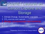 co2net lectures on carbon capture and storage2