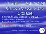 co2net lectures on carbon capture and storage3