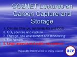co2net lectures on carbon capture and storage4