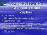 contents lecture 2 co 2 sources and capture