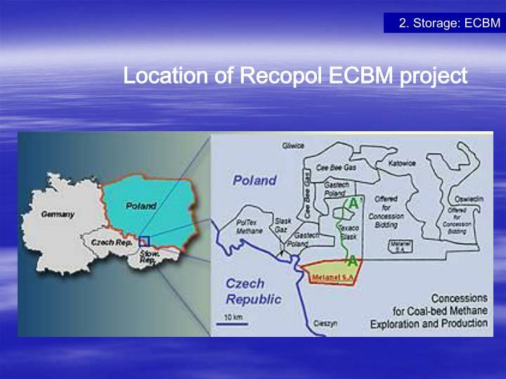 2. Storage: ECBM