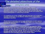 the detailed objectives of the project are