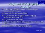 weyburn storage project canada