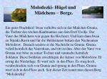 molodezki h gel und m dchens berge