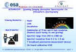 sciamachy sc anning i maging a bsorption spectro m eter for a tmospheric ch artograph y