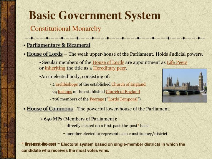 Basic government system