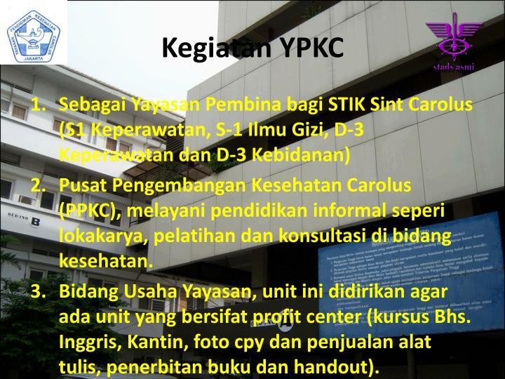 Kegiatan YPKC
