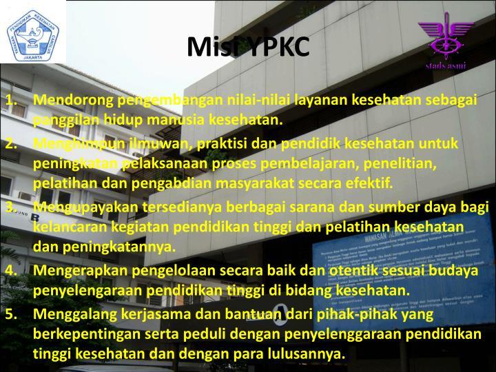 Misi YPKC