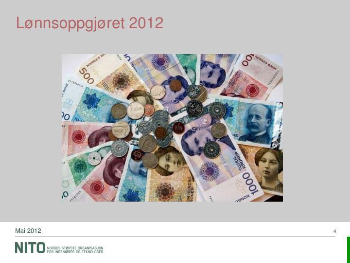 Lønnsoppgjøret 2012
