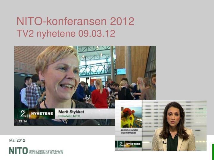 NITO-konferansen 2012