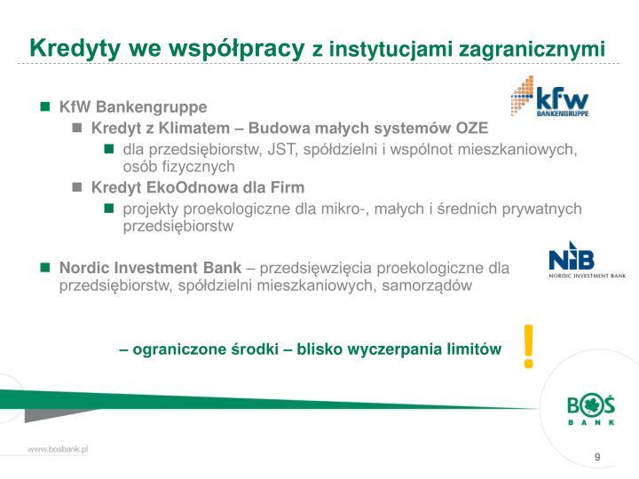 Kredyty we współpracy