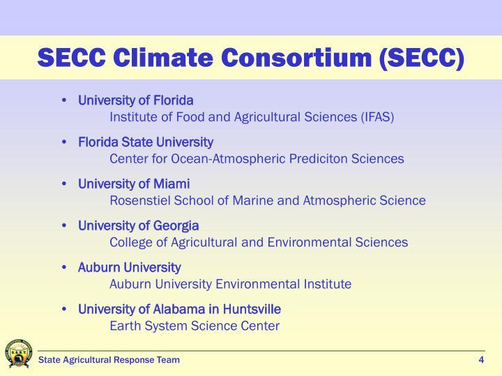 SECC Climate Consortium (SECC)