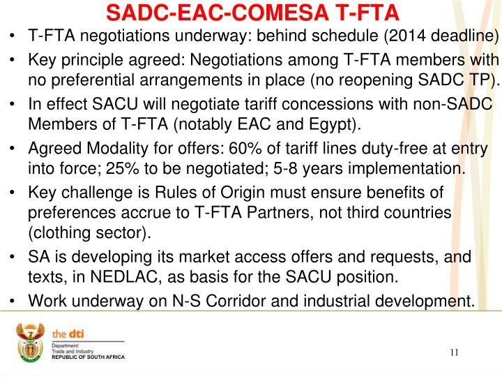 SADC-EAC-COMESA T-FTA