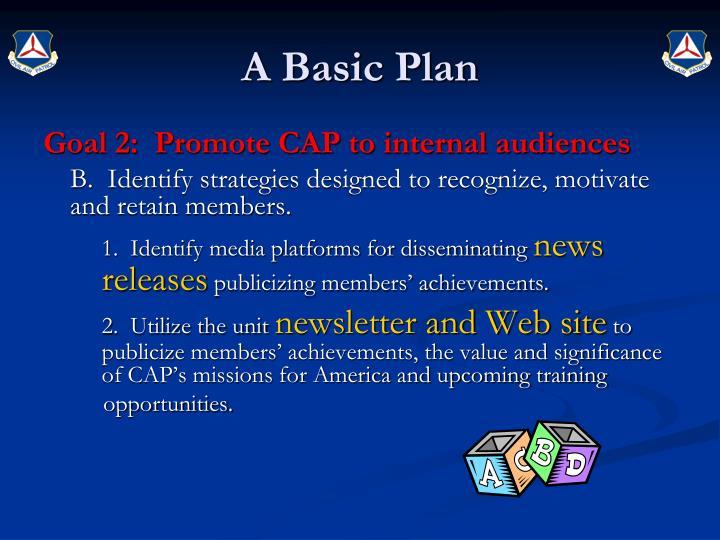 A Basic Plan