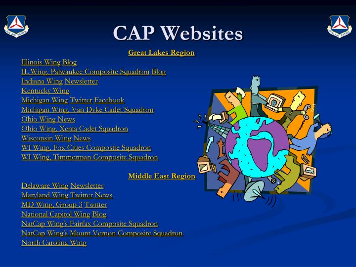 CAP Websites