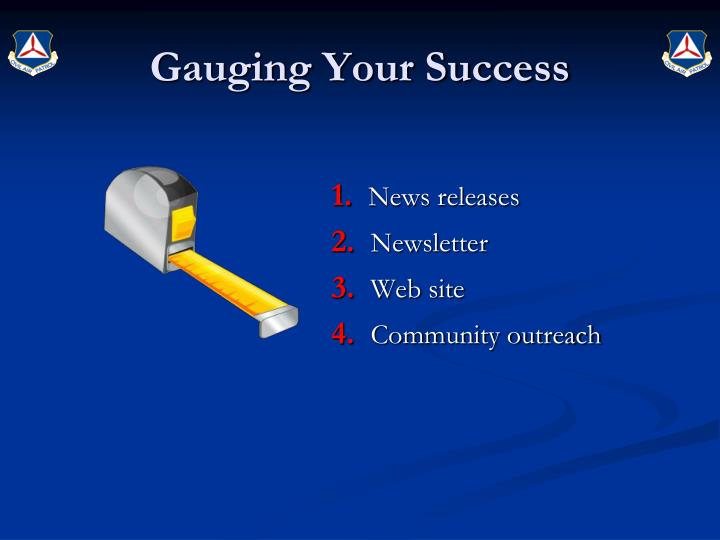 Gauging Your Success