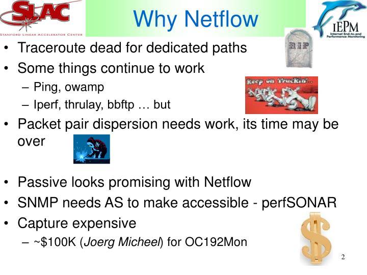 Why Netflow