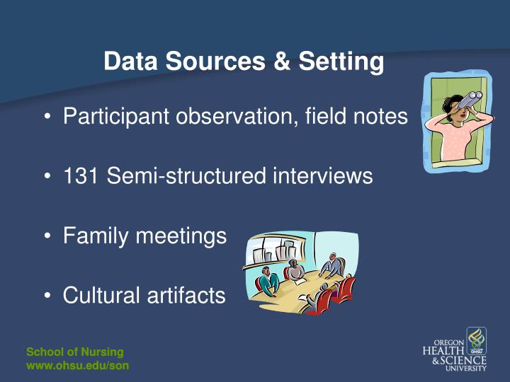 Data Sources & Setting