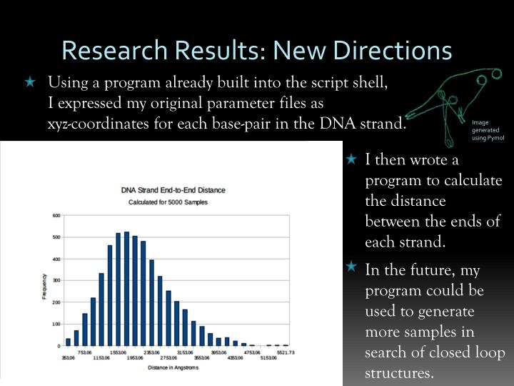 Research Results: New Directions