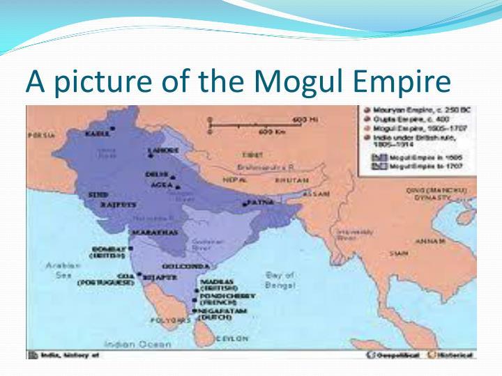 A picture of the Mogul Empire