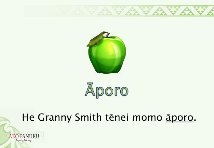 Āporo