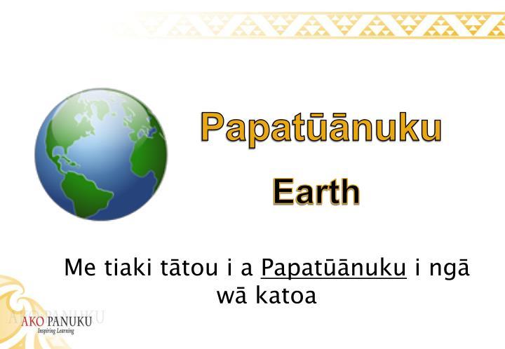 Papatūānuku