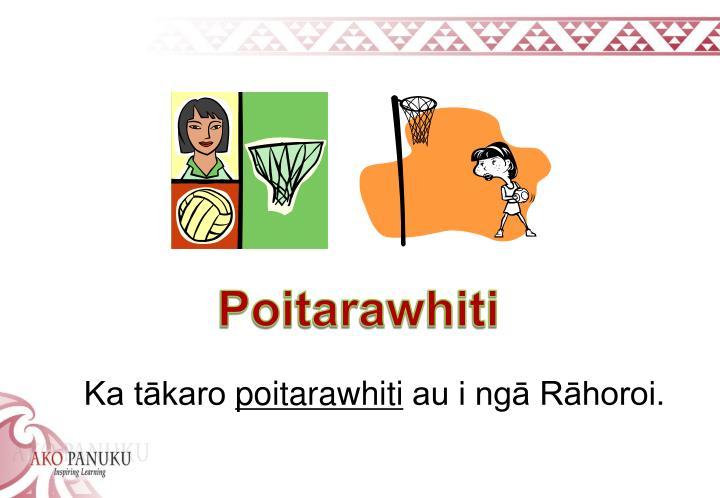 Poitarawhiti