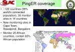 pinger coverage