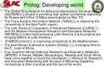 prolog developing world