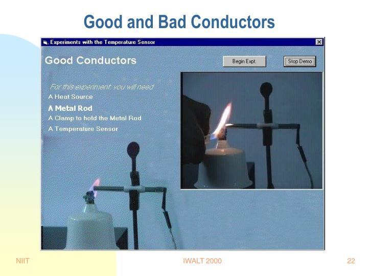 Good and Bad Conductors