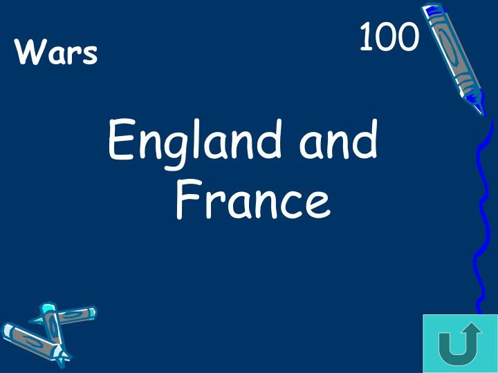 England and France