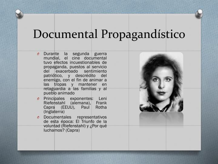 Documental Propagandístico