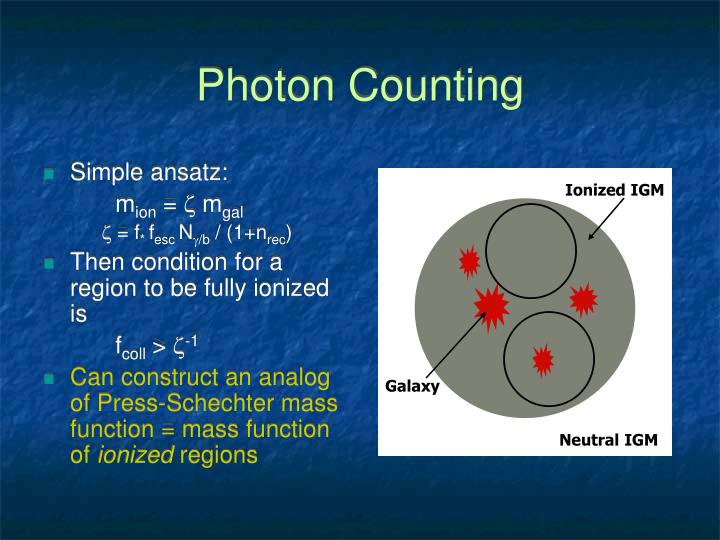 Photon Counting
