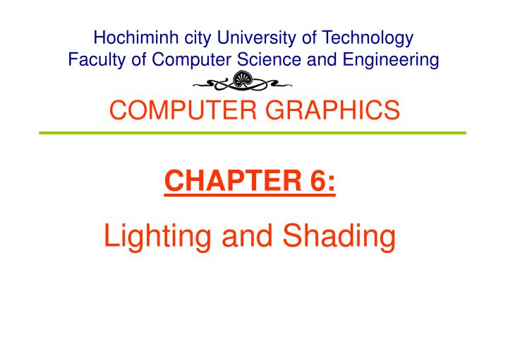 Hochiminh city University of Technology